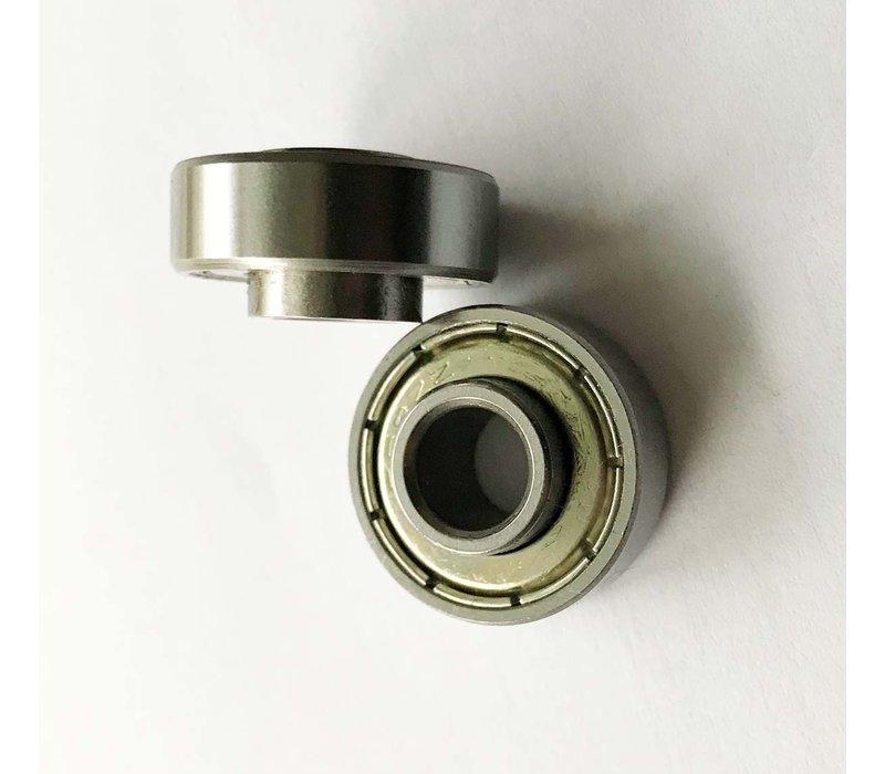 Set van 2 wiellagers ( type 608ZZ extra dik), voor Compact 2.0 voorwielen