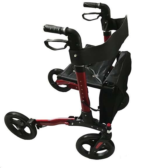mobinova rollator compact 2.0 rood