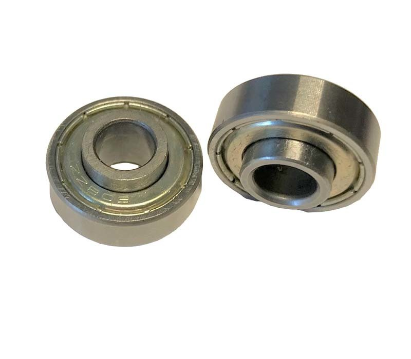 Set of 2 ball bearings (type 608ZZ extra wide), suitable for  Compact 2.0 front wheels
