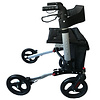 Mobinova Rollator Compact 2.0, lightweight, double fold, including travel bag