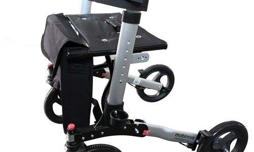 Rollator Mobinova Compact 2: lichtgewicht en klein opvouwbaar