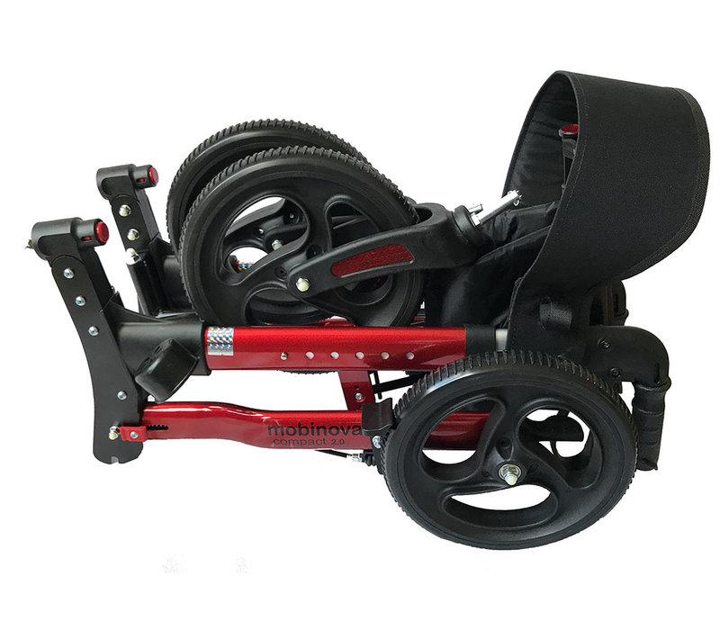 Rollator Compact 2.0  allround gebruik,  binnen en buiten.  Aanbieding