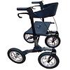 Mobinova Rollator Mobinova Outdoor Flex, lightweight stable small folding frame, 4 pneumatic tires