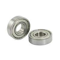 Set of 2 bearings (type 6001ZZ), suitable for several rollator  front forks