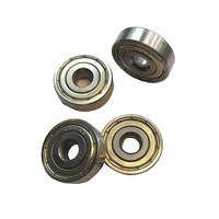 Set of 2 ball bearings (type 6001ZZ), suitable for rollator and wheelchair wheels