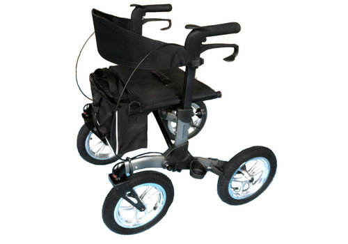 Mobinova Rollator Mobinova Outdoor Flex, large pneumatic tires