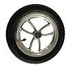 Mobinova complete wheel for Rollator Mobinova Outdoor Flex. 12 Inch