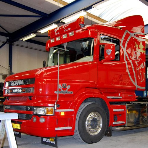 Sonnenblende Scania Serie 4 Highline type 1-c