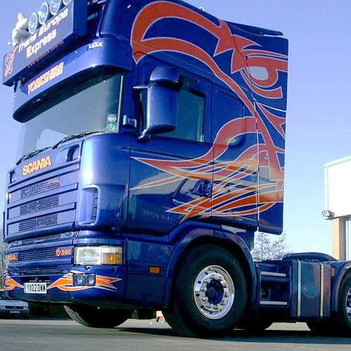 Scania Serie 4 Sonnenblende type 2-A