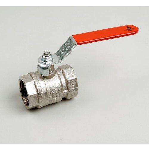 Ball valve type 216 female/female