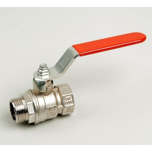 Ball valve type 217 male/female