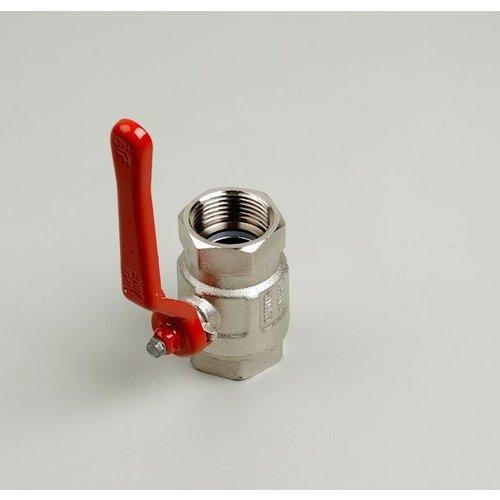 Ball valve type 090 female/female