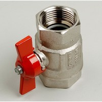 Ball valve type 092 female/female 1/4 - 1.1 / 4""