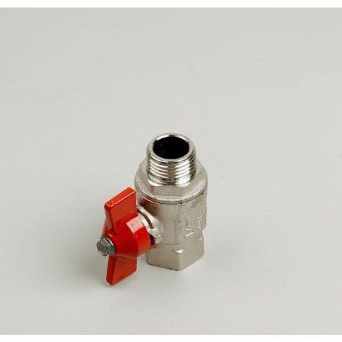 Ball valve type 093 male/ female thread