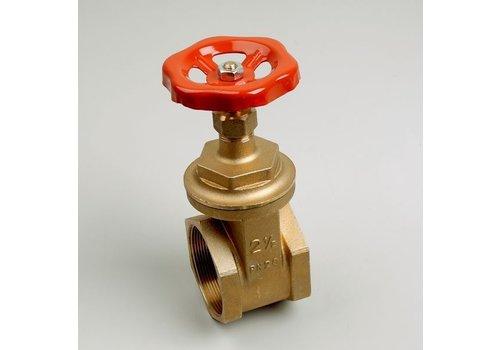 "Brass gate valve female/female 3/8""- 2"""