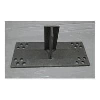 T-Konsole 100 mm für Stutz 160 - 220 mm galvanisiert