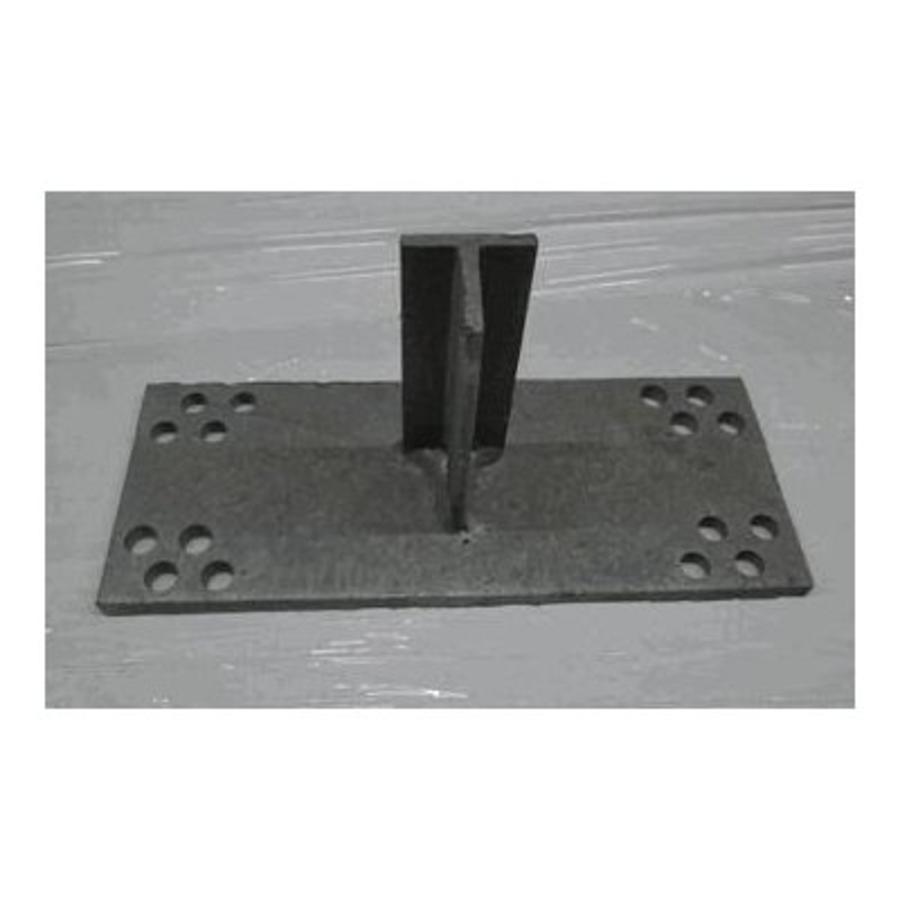 T-Konsole 100 mm für Stutz 160 - 220 mm galvanisiert-1
