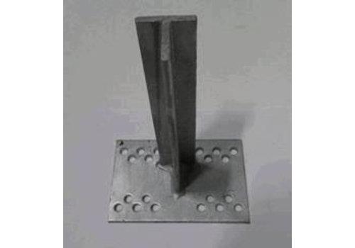 T-Konsole 200 mm für Stutz 40 - 120 mm galvanisiert