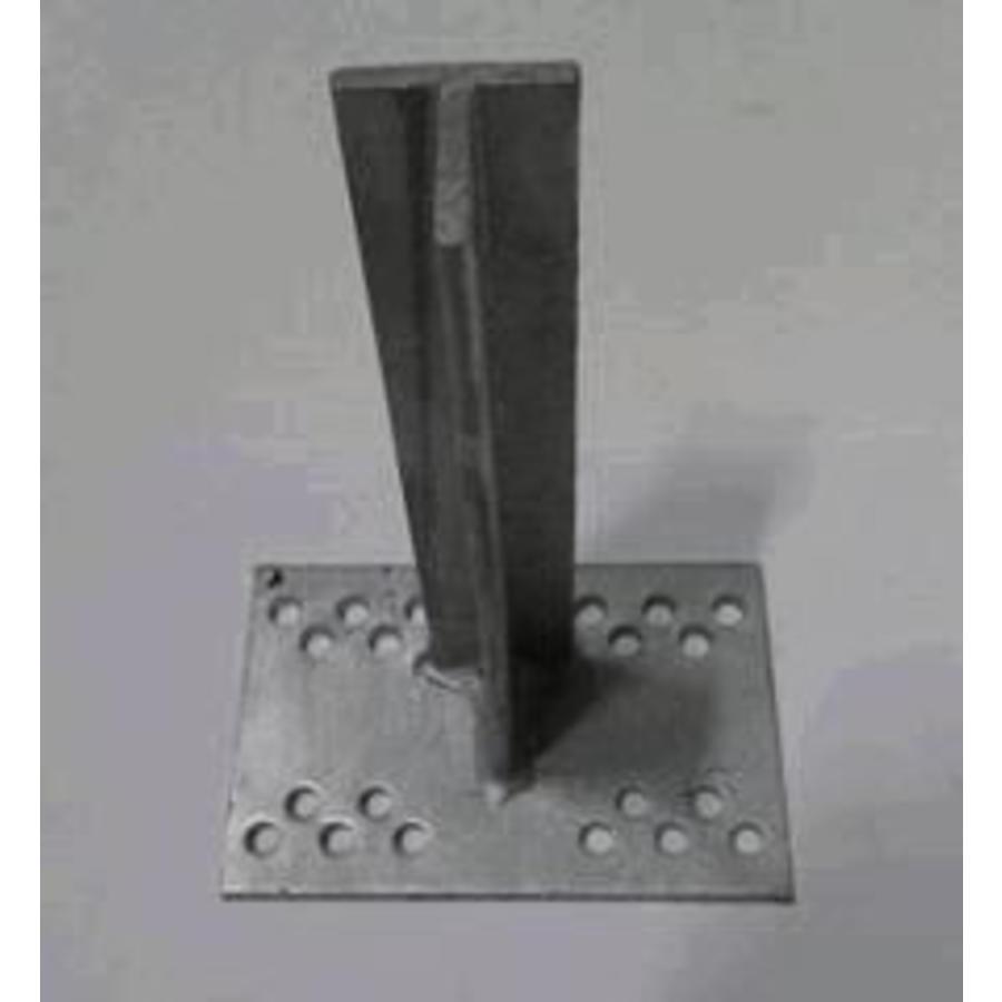 T-Konsole 200 mm für Stutz 40 - 120 mm galvanisiert-1