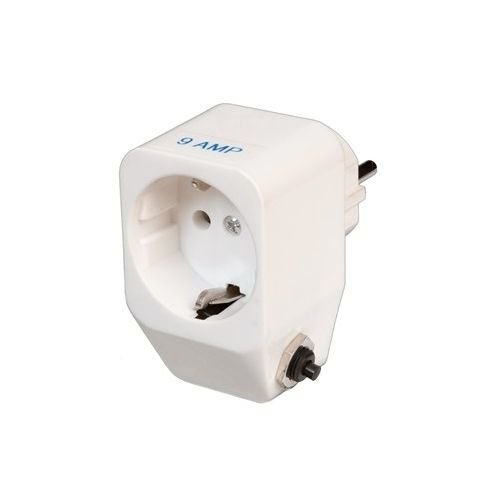 Thermische beveiliging voor 1 fase 230 volt pomp - Steker/contrasteker