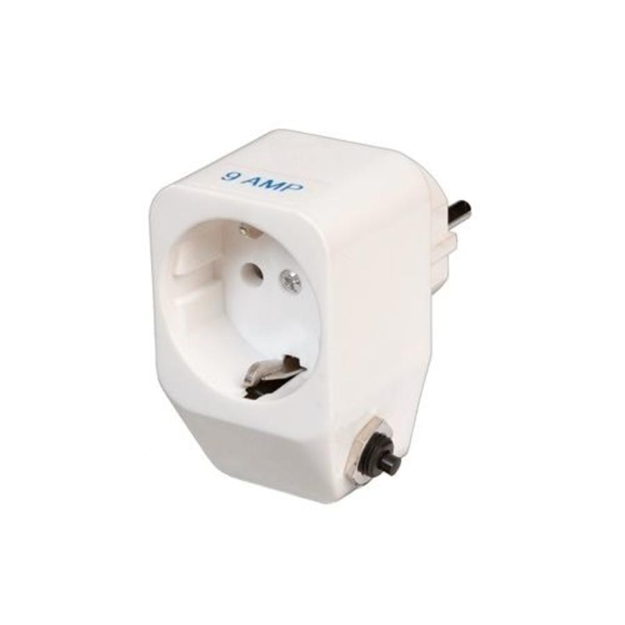 Thermische beveiliging voor 1 fase 230 volt pomp - Steker/contrasteker-1