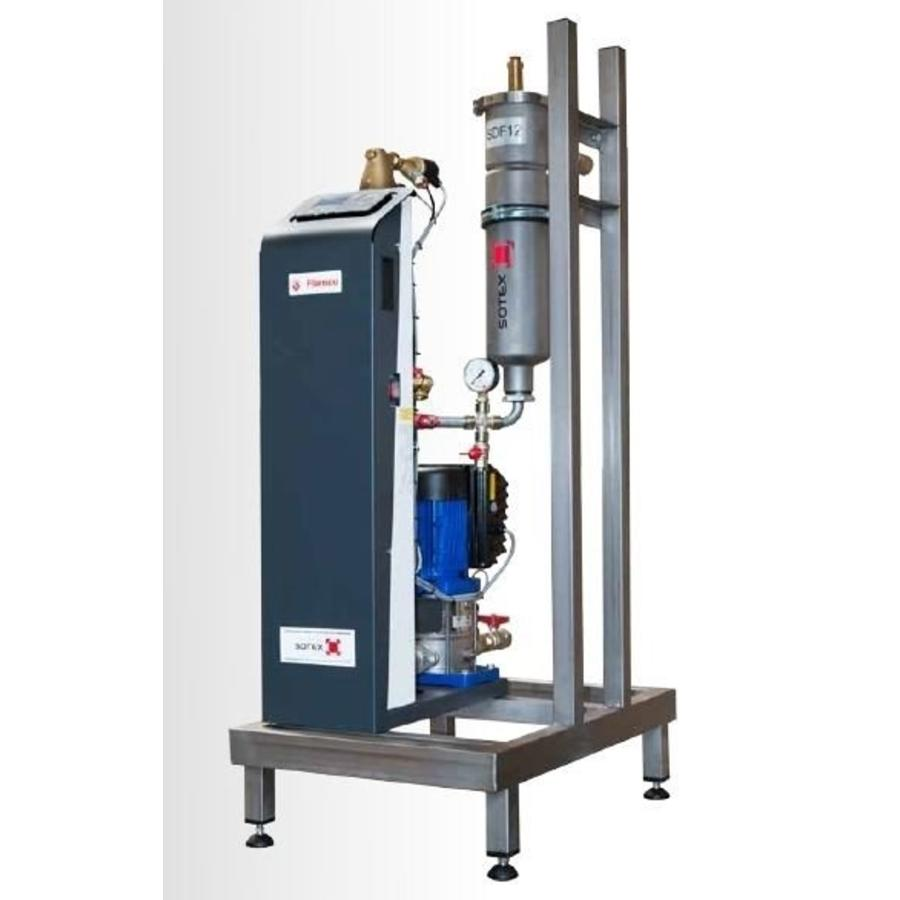 Sotex CleanoVent 300 vacuumontgasser inclusief deelstroomfilter-1