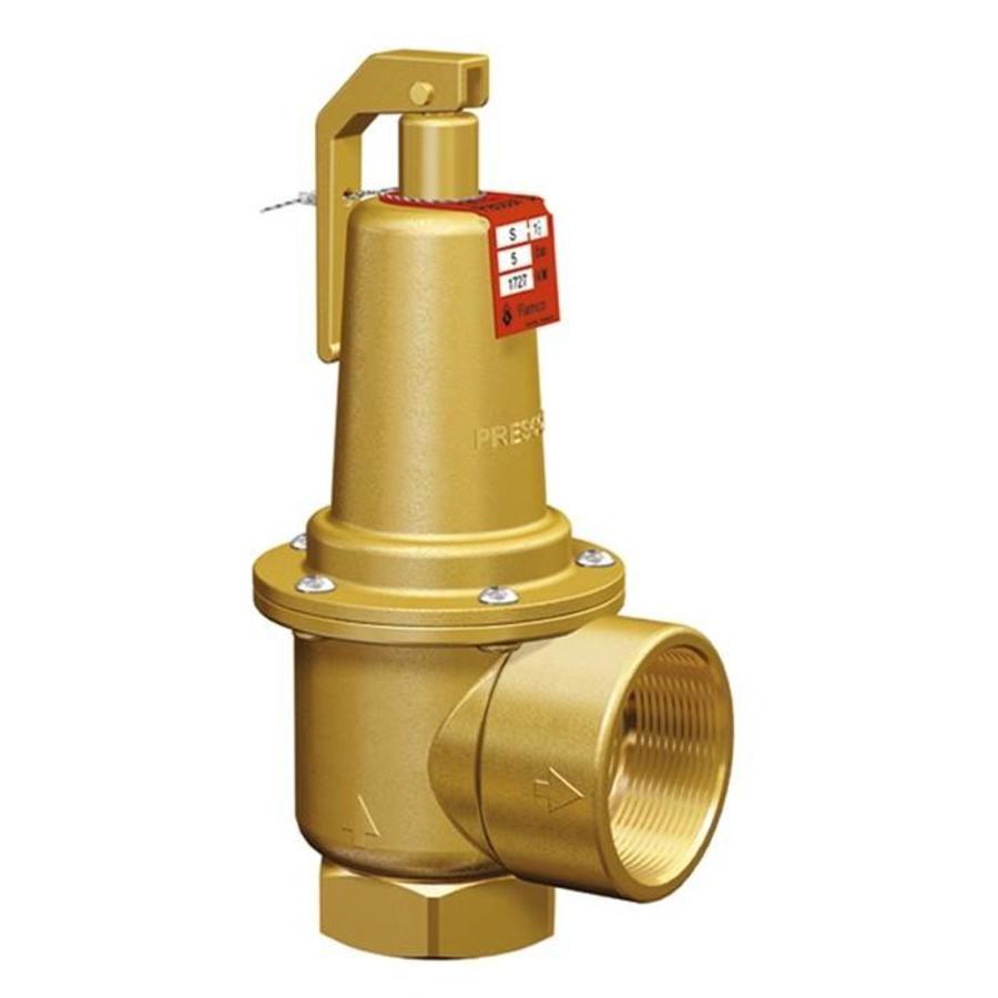"Flamco Prescor S safety valve 3 Bar 1.1/4"" t/m 2""-1"