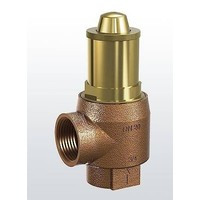 Brass safety valve for heating systems type 651 (1,5 & 6 bar)