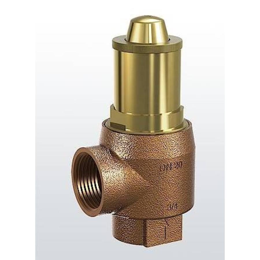 Brass safety valve for heating systems type 651 (1,5 & 6 bar)-1