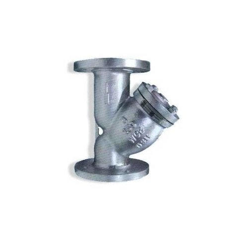 Cast iron Y-filter/ strainer for neutral gases and water