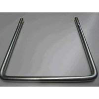 U-bolt for post, galvanised (price on request)