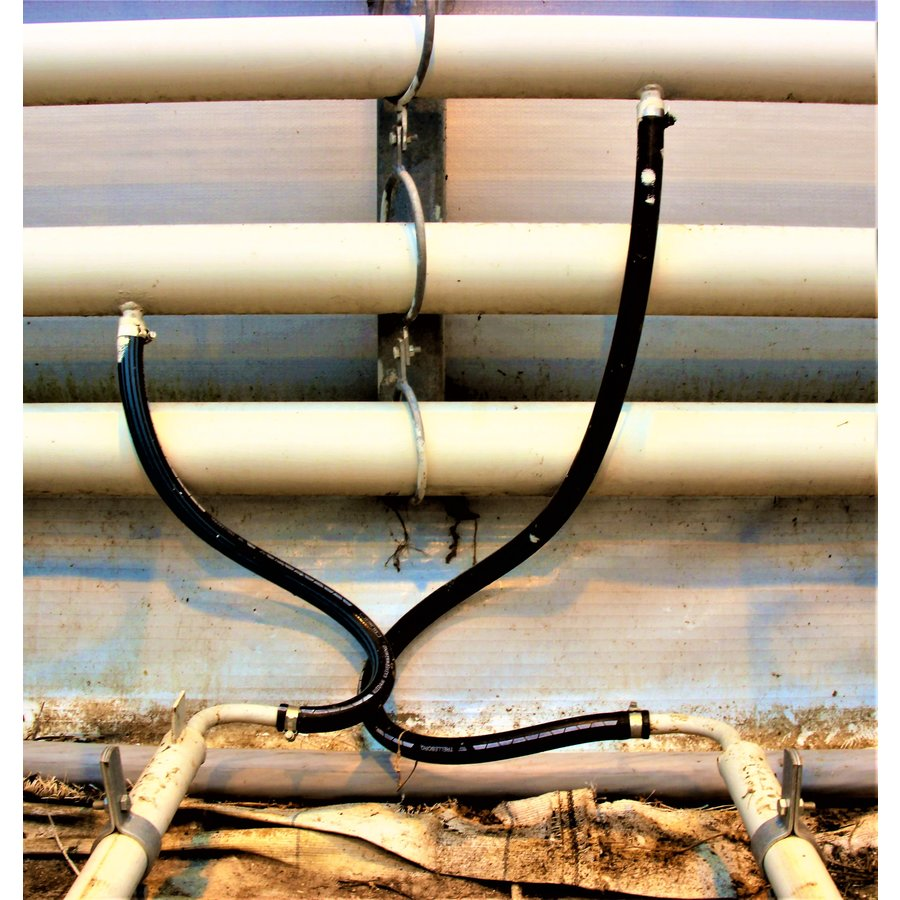 """Kledam greenhouse heating hose 3/4"""" - 5/4"""" with Dutch IMAG certification-2"""