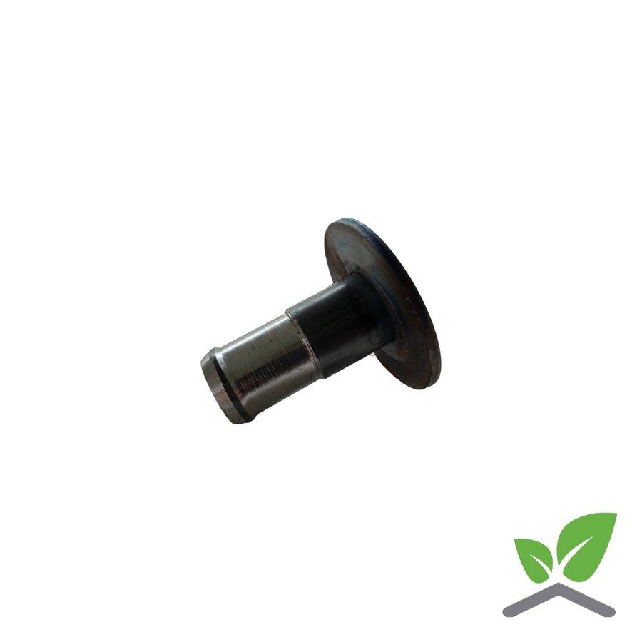 Lasplaat 51 mm met aangelaste slangtule-2