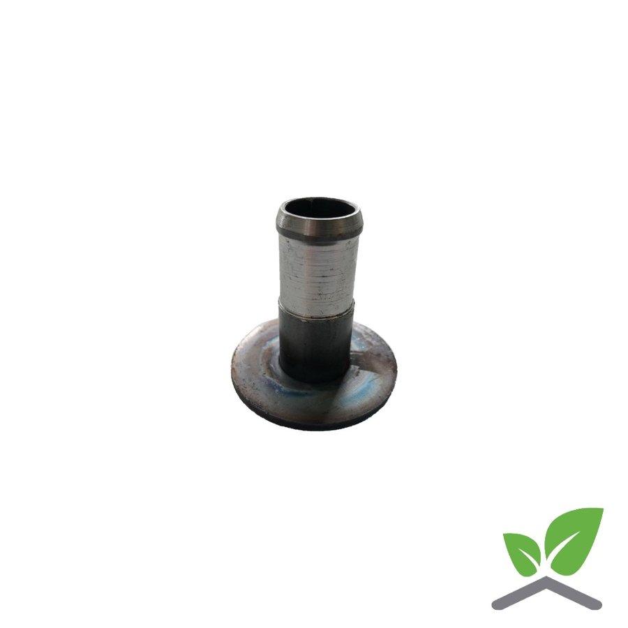 Lasplaat 51 mm met aangelaste slangtule-1
