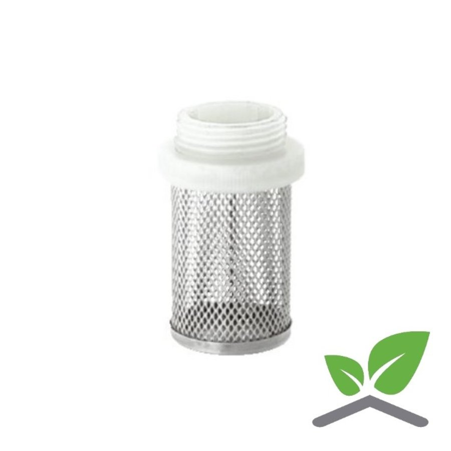 """Stainless steel strainer 3/8"""" up to 2""""-1"""