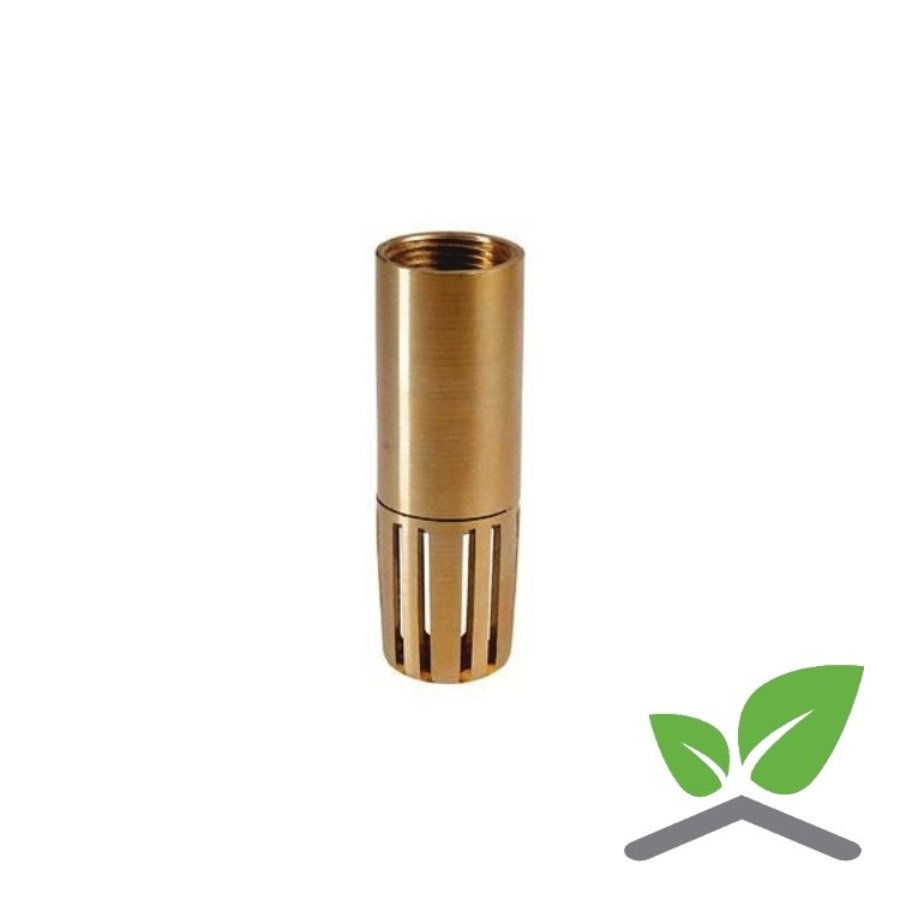 """Foot valve straight model brass female 3/4"""" – 2""""-1"""