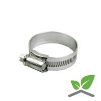 HI-GRIP hose clamp galvanised 22-30 till 50-70 mm