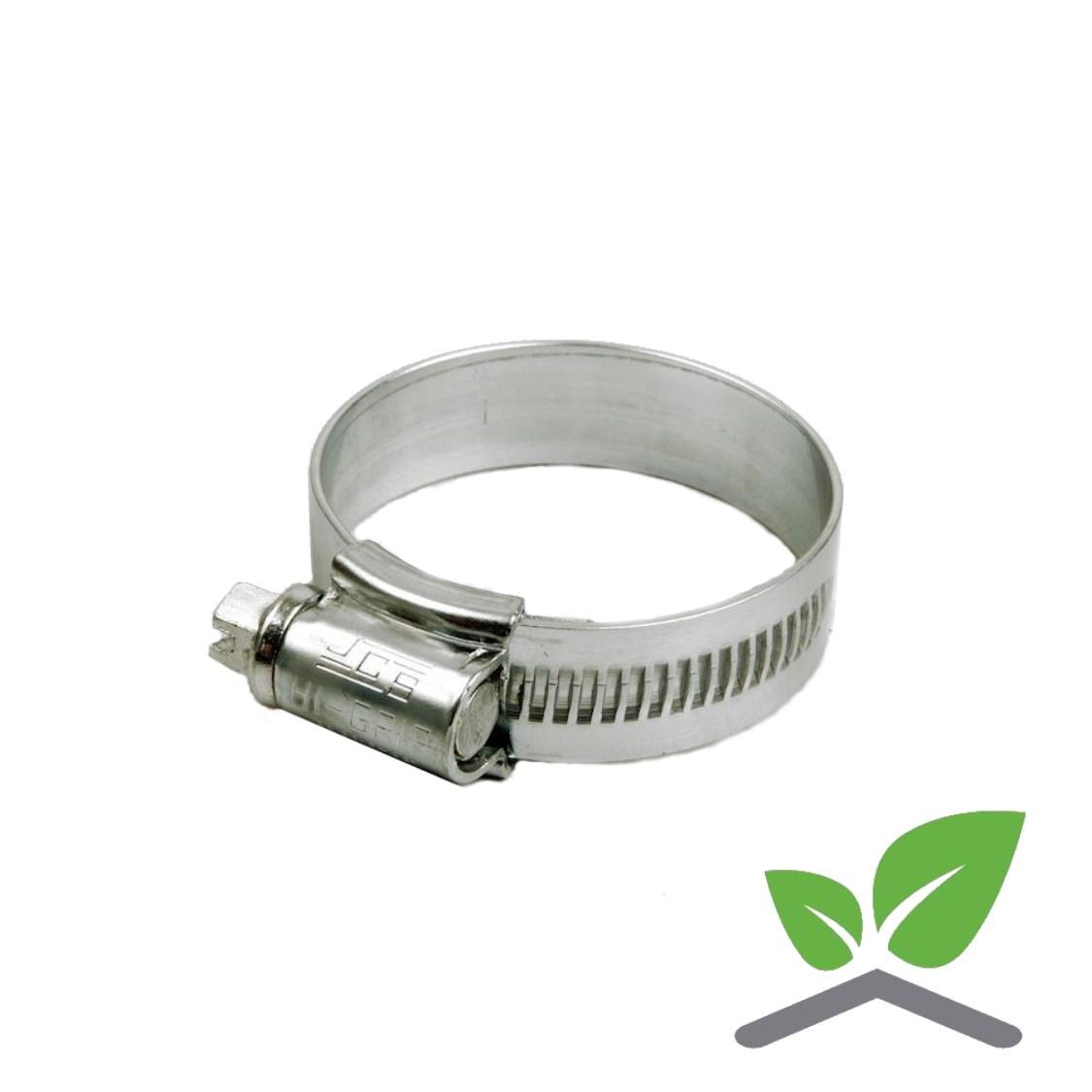 JCS HI-GRIP HOSE CLIP Stainless Steel 35-45mm
