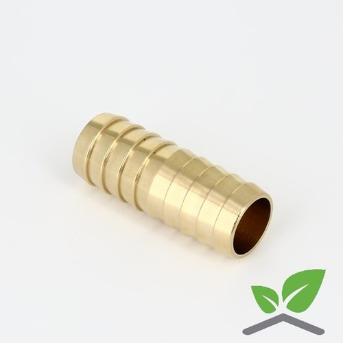 Brass double hose connector