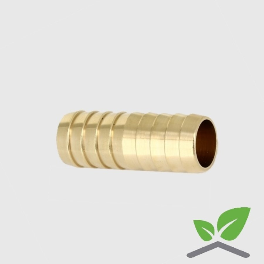 """Brass double hose connector for hose 3/4"""" – 1.1/4""""-2"""
