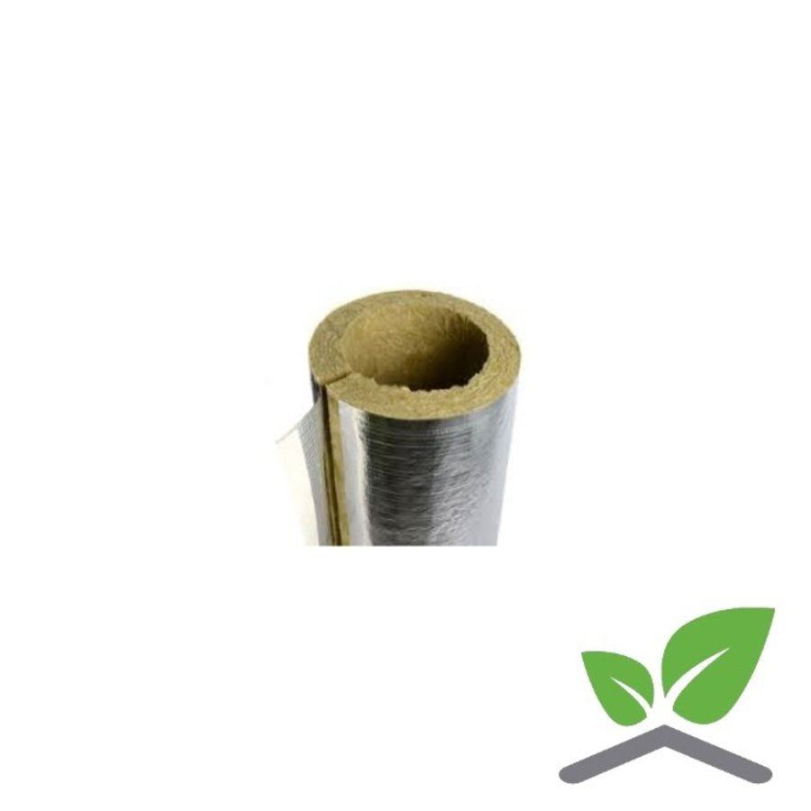 """Rockwool 810 Insulation pipe section; Insulation thickness 25 mm; pipe diameters 3/4""""- 114 mm-1"""