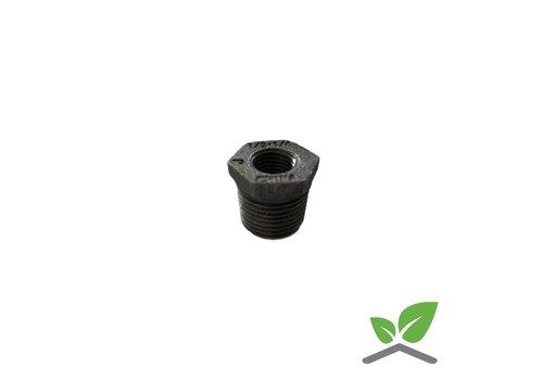 Fitting bushing / reducing ring  no. 241 black