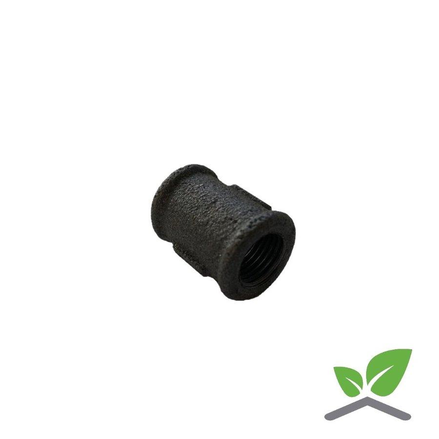 "Fitting socket no. 270 black 1/4"" - 2"" female x female-1"