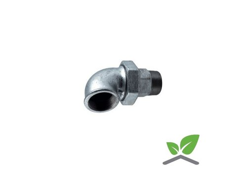 Fitting elbow coupling no.98 galvanised