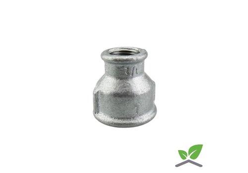 Fitting reducing socket no. 240 galvanised