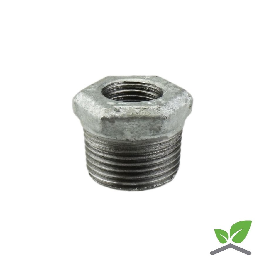 "Fitting reducing ring galvanised no. 241 - 1/4"" - 2"" female x male-1"