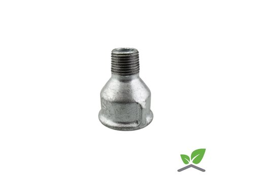Fitting reducing socket nipple no. 246 galvanised