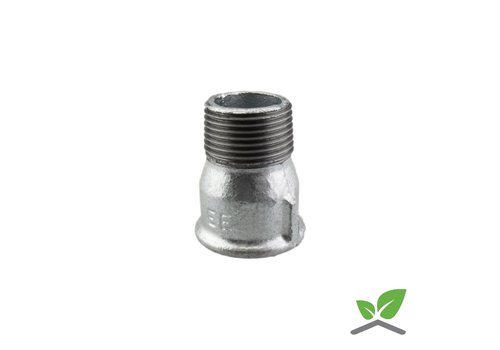 Fitting socket nipple no. 529a galvanised