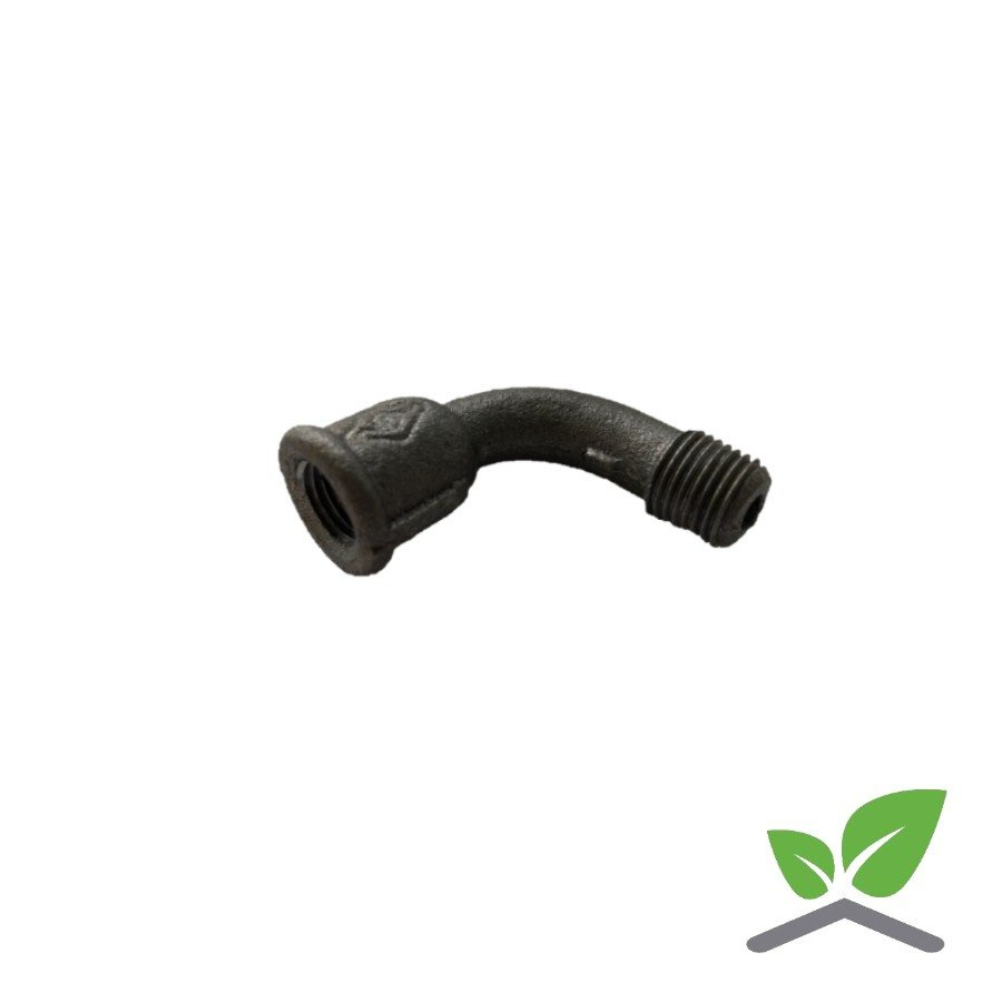"Fitting bend no. 1 black 1/4"" - 2"" female x male-1"