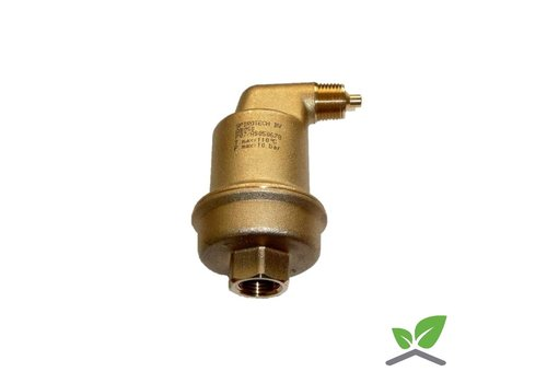 Spirotop automatic air vent brass 1/2""